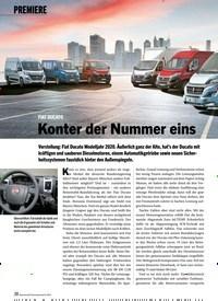 Titelbild der Ausgabe 8/2019 von PREMIERE: FIAT DUCATO Konter der Nummer eins. Zeitschriften als Abo oder epaper bei United Kiosk online kaufen.