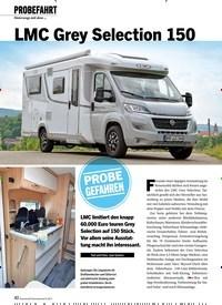 Titelbild der Ausgabe 9/2019 von PROBEFAHRT Unterwegs mit dem : LMC Grey Selection 150. Zeitschriften als Abo oder epaper bei United Kiosk online kaufen.