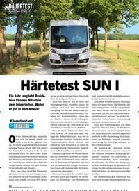 Titelbild der Ausgabe 9/2019 von DAUERTEST Knaus Sun I 700 LEG Härtetest SUN I. Zeitschriften als Abo oder epaper bei United Kiosk online kaufen.
