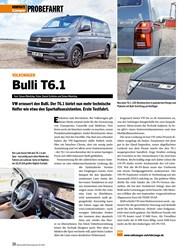 Titelbild der Ausgabe 10/2019 von VOLKSWAGEN: Bulli T6.1. Zeitschriften als Abo oder epaper bei United Kiosk online kaufen.