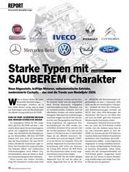 Titelbild der Ausgabe 10/2019 von REPORT: Starke Typen mit SAUBEREM Charakter. Zeitschriften als Abo oder epaper bei United Kiosk online kaufen.