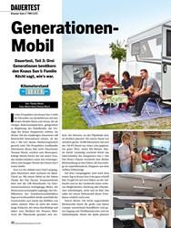 Titelbild der Ausgabe 10/2019 von DAUERTEST: Knaus Sun I 700 LEG: Generationen- Mobil. Zeitschriften als Abo oder epaper bei United Kiosk online kaufen.