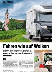 Titelbild der Ausgabe 11/2019 von PRAXISTEST: Fahren wie auf Wolken. Zeitschriften als Abo oder epaper bei United Kiosk online kaufen.