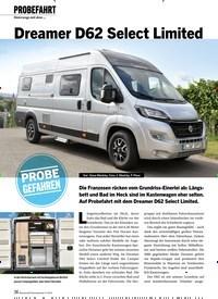 Titelbild der Ausgabe 11/2019 von PROBEFAHRT: Dreamer D62 Select Limited. Zeitschriften als Abo oder epaper bei United Kiosk online kaufen.