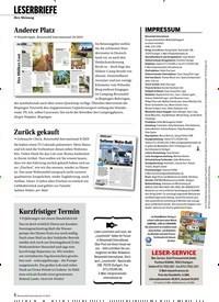 Titelbild der Ausgabe 12/2019 von LESERBRIEFE. Zeitschriften als Abo oder epaper bei United Kiosk online kaufen.