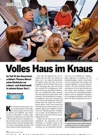 Titelbild der Ausgabe 1/2020 von DAUERTEST: Knaus Sun I 700 LEG: Volles Haus im Knaus. Zeitschriften als Abo oder epaper bei United Kiosk online kaufen.