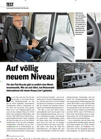 Titelbild der Ausgabe 1/2020 von TEST: Automatik-Getriebe Fiat Ducato: Auf völlig neuem Niveau. Zeitschriften als Abo oder epaper bei United Kiosk online kaufen.