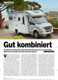 Titelbild der Ausgabe 1/2020 von PRAXISTEST: Laika Kosmo 2009: Gut kombiniert. Zeitschriften als Abo oder epaper bei United Kiosk online kaufen.
