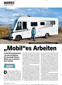 """Titelbild der Ausgabe 2/2020 von DAUERTEST: Knaus Sun I 700 LEG: """"Mobil""""es Arbeiten. Zeitschriften als Abo oder epaper bei United Kiosk online kaufen."""