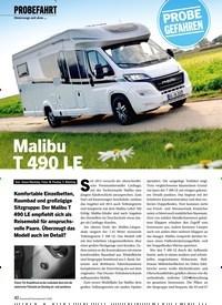 Titelbild der Ausgabe 2/2020 von Malibu T 490 LE. Zeitschriften als Abo oder epaper bei United Kiosk online kaufen.