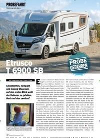 Titelbild der Ausgabe 3/2020 von PROBEFAHRT: Unterwegs mit dem …: Etrusco T 6900 SB. Zeitschriften als Abo oder epaper bei United Kiosk online kaufen.