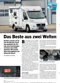 Titelbild der Ausgabe 3/2020 von GEBRAUCHT-CHECK: Bürstner Travel Van t 570 G: Das Beste aus zwei Welten. Zeitschriften als Abo oder epaper bei United Kiosk online kaufen.