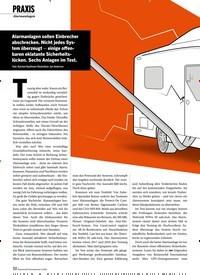 Titelbild der Ausgabe 4/2020 von PRAXIS: Alarmanlagen. Zeitschriften als Abo oder epaper bei United Kiosk online kaufen.