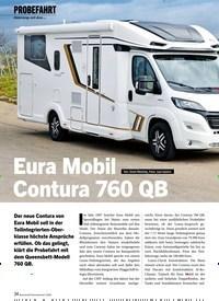 Titelbild der Ausgabe 5/2020 von Eura Mobil Contura 760 QB. Zeitschriften als Abo oder epaper bei United Kiosk online kaufen.