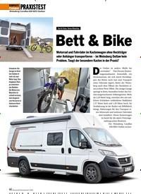 Titelbild der Ausgabe 5/2020 von Bett & Bike. Zeitschriften als Abo oder epaper bei United Kiosk online kaufen.