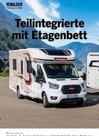 Titelbild der Ausgabe 6/2020 von VERGLEICH: Teilintegrierte mit Etagenbett. Zeitschriften als Abo oder epaper bei United Kiosk online kaufen.