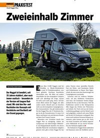 Titelbild der Ausgabe 6/2020 von PRAXISTEST: Zweieinhalb Zimmer. Zeitschriften als Abo oder epaper bei United Kiosk online kaufen.