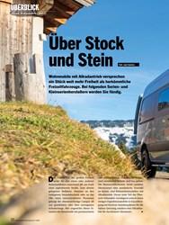 Titelbild der Ausgabe 7/2020 von ÜBERBLICK: Über Stock und Stein. Zeitschriften als Abo oder epaper bei United Kiosk online kaufen.