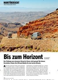 Titelbild der Ausgabe 8/2020 von MARKTÜBERSICHT: Allrad-Wohnmobile (Teil 2) Bis zum Horizont. Zeitschriften als Abo oder epaper bei United Kiosk online kaufen.
