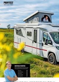 Titelbild der Ausgabe 2/2021 von PROFITEST: LMC Cruiser T 662 G: Hoch hinaus. Zeitschriften als Abo oder epaper bei United Kiosk online kaufen.