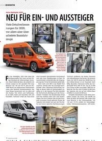 Titelbild der Ausgabe 5/2019 von NEUHEITEN: Adria Highlights 2020: NEU FÜR EIN- UND AUSSTEIGER. Zeitschriften als Abo oder epaper bei United Kiosk online kaufen.