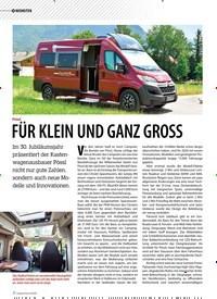 Titelbild der Ausgabe 5/2019 von NEUHEITEN: Pössl: FÜR KLEIN UND GANZ GROSS. Zeitschriften als Abo oder epaper bei United Kiosk online kaufen.