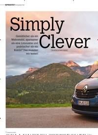 Titelbild der Ausgabe 6/2019 von Simply Clever. Zeitschriften als Abo oder epaper bei United Kiosk online kaufen.