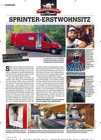 Titelbild der Ausgabe 1/2020 von HOMEMADE: SPRINTER-ERSTWOHNSITZ. Zeitschriften als Abo oder epaper bei United Kiosk online kaufen.