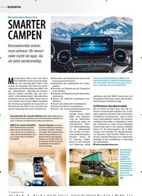Titelbild der Ausgabe 1/2020 von Mercedes-Benz Marco Polo: SMARTER CAMPEN. Zeitschriften als Abo oder epaper bei United Kiosk online kaufen.
