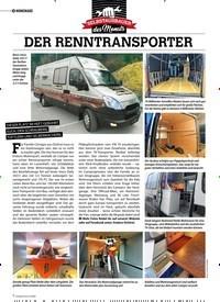 Titelbild der Ausgabe 4/2020 von HOMEMADE: DER RENNTRANSPORTER. Zeitschriften als Abo oder epaper bei United Kiosk online kaufen.