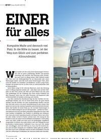 Titelbild der Ausgabe 4/2020 von TEST Knaus Boxlife e 600 DQ: EINER für alles. Zeitschriften als Abo oder epaper bei United Kiosk online kaufen.