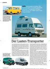 Titelbild der Ausgabe 4/2020 von MAGAZIN: 45 Jahre VW LT: Der Lasten-Transporter. Zeitschriften als Abo oder epaper bei United Kiosk online kaufen.