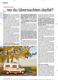 Titelbild der Ausgabe 4/2020 von MAGAZIN: Wusstest du eigentlich… …wo du übernachten darfst?. Zeitschriften als Abo oder epaper bei United Kiosk online kaufen.