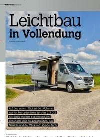 Titelbild der Ausgabe 4/2020 von REPORTAGE Alphavan: Leichtbau in Vollendung. Zeitschriften als Abo oder epaper bei United Kiosk online kaufen.