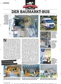 Titelbild der Ausgabe 5/2020 von HOMEMADE: DER BAUMARKT-BUS. Zeitschriften als Abo oder epaper bei United Kiosk online kaufen.