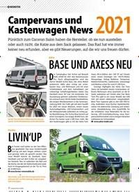 Titelbild der Ausgabe 5/2020 von Campervans und Kastenwagen News 2021. Zeitschriften als Abo oder epaper bei United Kiosk online kaufen.