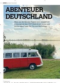 Titelbild der Ausgabe 1/2021 von REISE: Quer durch Deutschland: ABENTEUER DEUTSCHLAND. Zeitschriften als Abo oder epaper bei United Kiosk online kaufen.