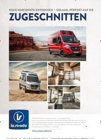 Titelbild der Ausgabe 1/2021 von MAGAZIN: Geschenktipps für den Campervan. Zeitschriften als Abo oder epaper bei United Kiosk online kaufen.