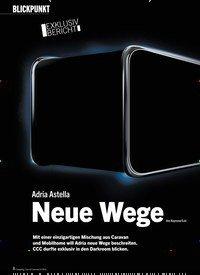 Titelbild der Ausgabe 9/2019 von BLICKPUNKT: EXKLUSIV BERICHT: Adria Astella: Neue Wege. Zeitschriften als Abo oder epaper bei United Kiosk online kaufen.