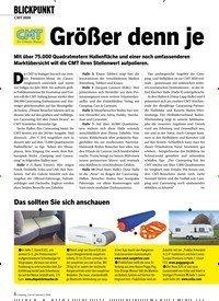 Titelbild der Ausgabe 1/2020 von CMT 2020: Größer denn je. Zeitschriften als Abo oder epaper bei United Kiosk online kaufen.