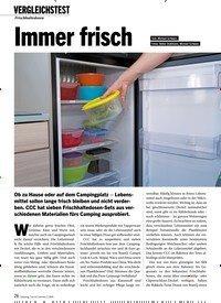 Titelbild der Ausgabe 1/2020 von Frischhaltedosen: Immer frisch. Zeitschriften als Abo oder epaper bei United Kiosk online kaufen.