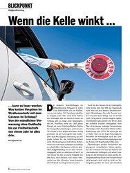 Titelbild der Ausgabe 4/2020 von BLICKPUNKT: Bußgeldkatalog: Wenn die Kelle winkt …. Zeitschriften als Abo oder epaper bei United Kiosk online kaufen.