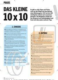 Titelbild der Ausgabe 4/2020 von DAS KLEINE: 10 x 10. Zeitschriften als Abo oder epaper bei United Kiosk online kaufen.