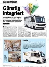 Titelbild der Ausgabe 3/2020 von MODELLÜBERSICHT: Integrierte unter 60.000 Euro: Günstig integriert. Zeitschriften als Abo oder epaper bei United Kiosk online kaufen.