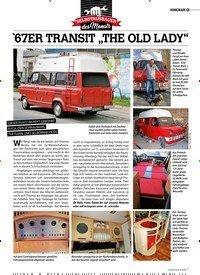 """Titelbild der Ausgabe 6/2019 von HOMEMADE: `67ER TRANSIT """"THE OLD LADY"""". Zeitschriften als Abo oder epaper bei United Kiosk online kaufen."""