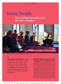 Titelbild der Ausgabe 3/2019 von Young People: Wir möchten uns selbst und die Welt verändern. Zeitschriften als Abo oder epaper bei United Kiosk online kaufen.