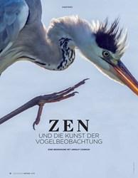 Titelbild der Ausgabe 4/2019 von ZEN UND DIE KUNST DER VOGELBEOBACHTUNG. Zeitschriften als Abo oder epaper bei United Kiosk online kaufen.