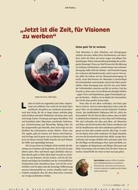 """Titelbild der Ausgabe 3/2020 von """"Jetzt ist die Zeit, für Visionen zu werben"""". Zeitschriften als Abo oder epaper bei United Kiosk online kaufen."""
