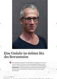 Titelbild der Ausgabe 3/2020 von Eine Umkehr im tiefsten Sitz des Bewusstseins. Zeitschriften als Abo oder epaper bei United Kiosk online kaufen.
