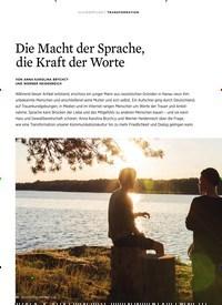 Titelbild der Ausgabe 3/2020 von Die Macht der Sprache, die Kraft der Worte. Zeitschriften als Abo oder epaper bei United Kiosk online kaufen.